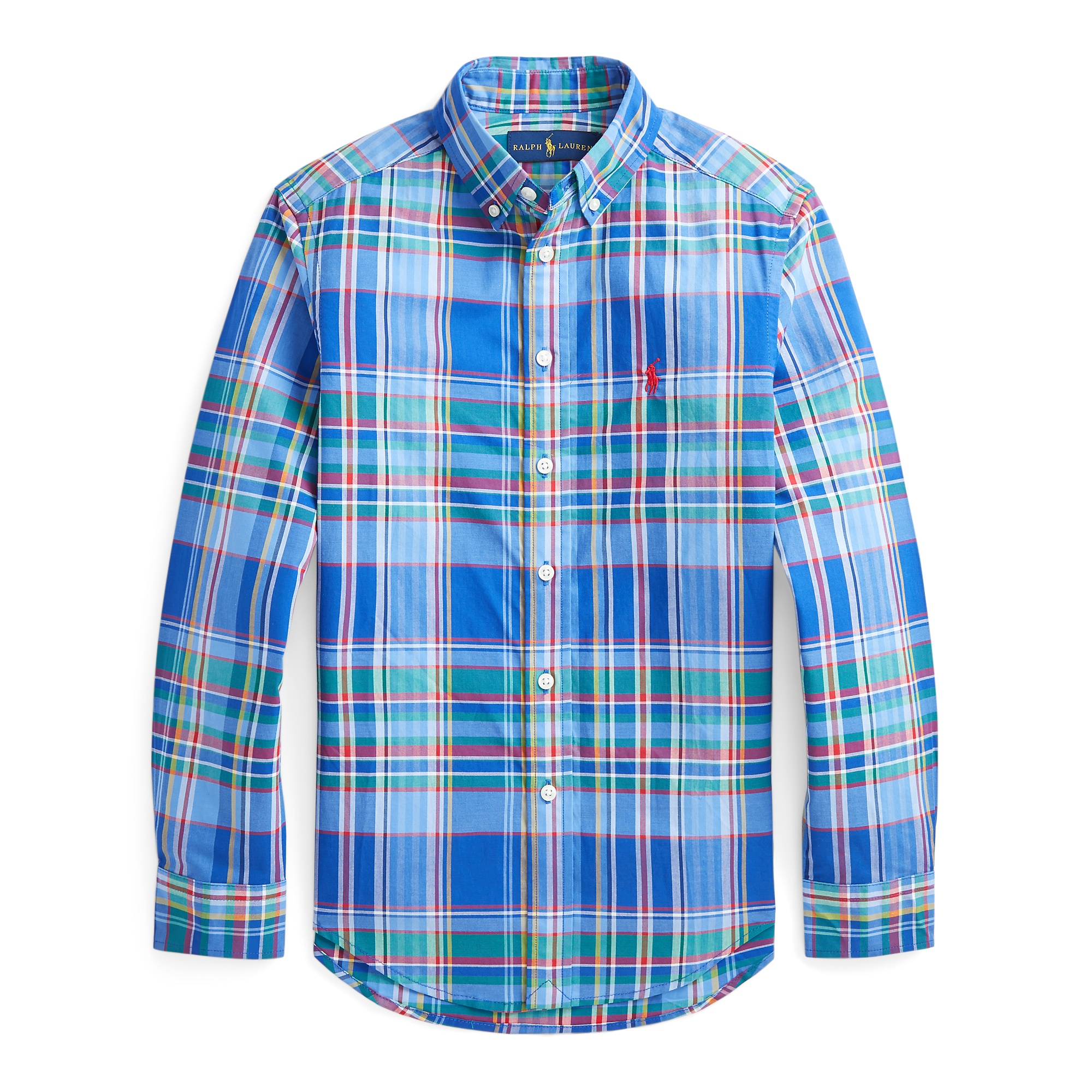 Ralph Lauren Plaid Performance Poplin Shirt