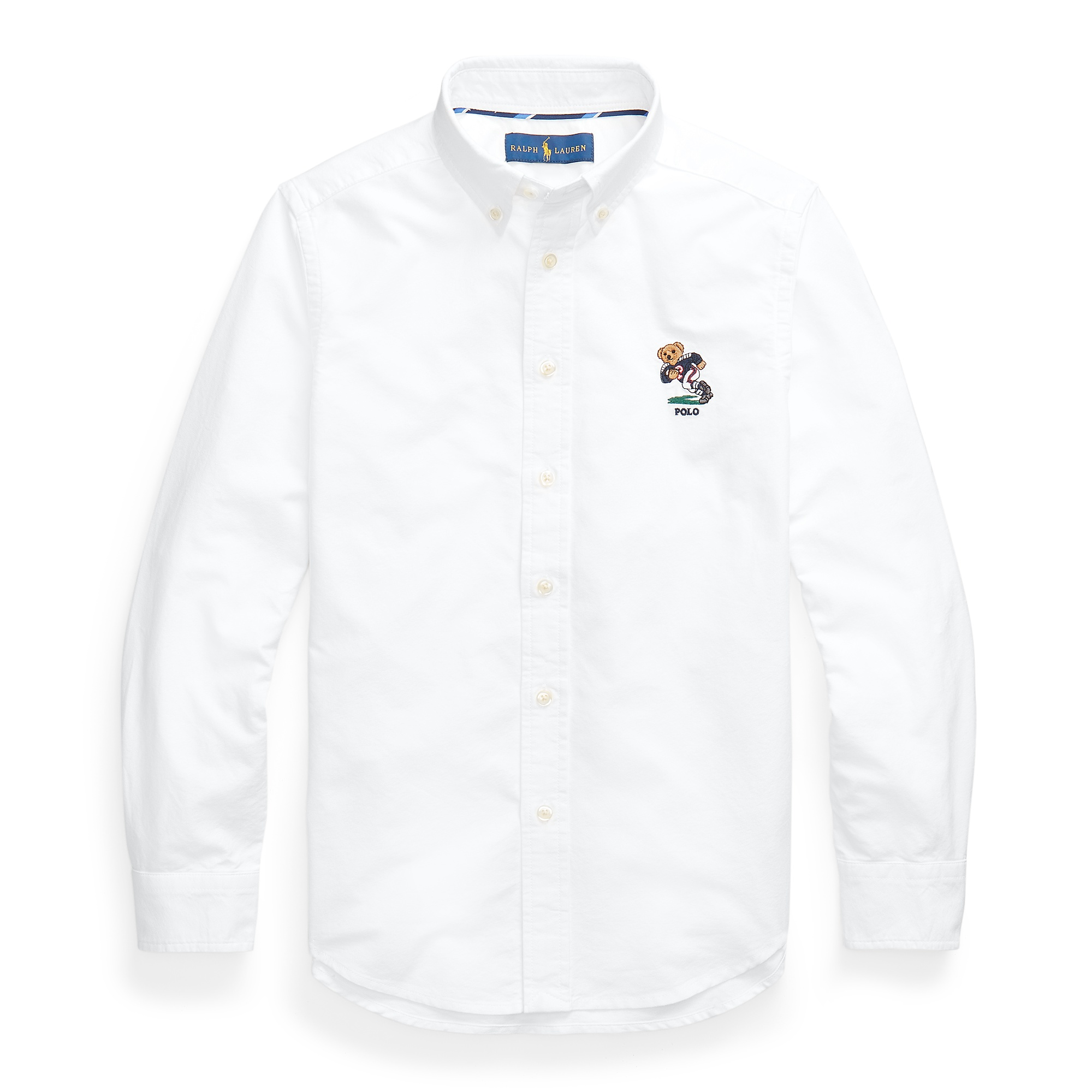 Ralph Lauren Football Bear Cotton Oxford Shirt