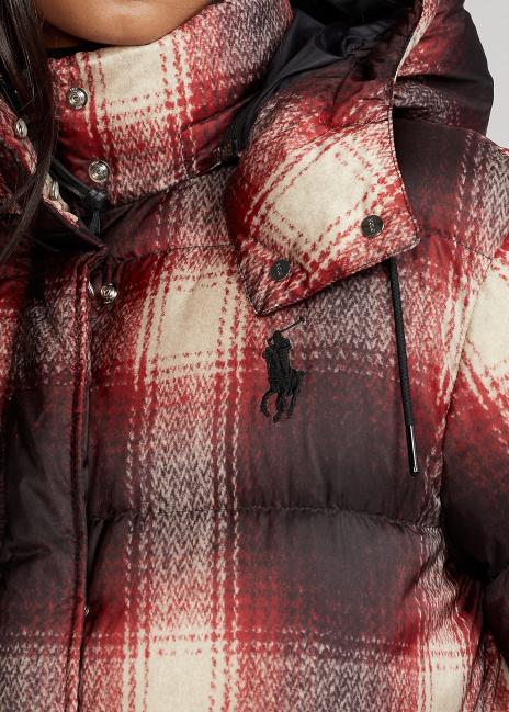 Ralph Lauren Plaid Down-Filled Jacket