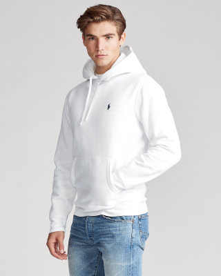 Ralph Lauren Garment-Dyed Fleece Hoodie