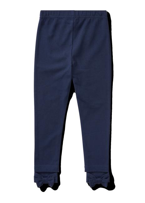 Ralph Lauren Bow-Back Jersey Legging
