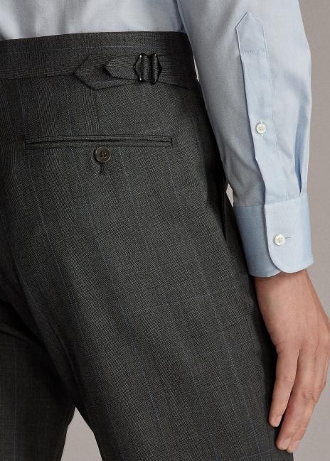 Ralph Lauren Gregory Glen Plaid Twill Suit