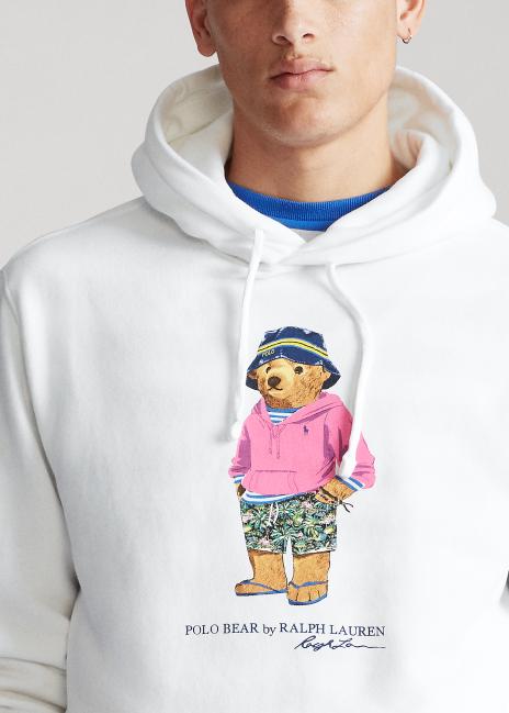 Ralph Lauren Beach Bear Fleece Hoodie