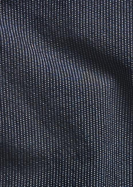 Ralph Lauren Indigo Striped Dobby Vest