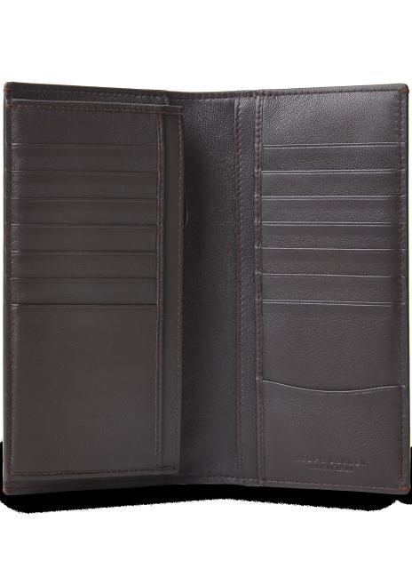 Ralph Lauren Burnished Calfskin Continental Wallet