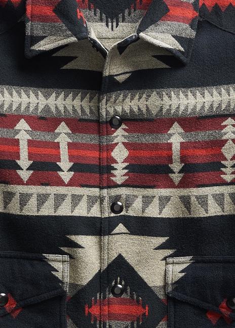 Ralph Lauren Brushed Jacquard Overshirt