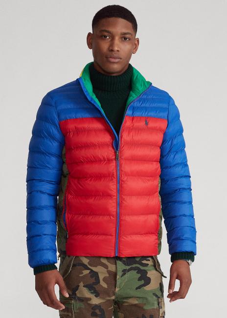 Ralph Lauren Color-Blocked Packable Jacket