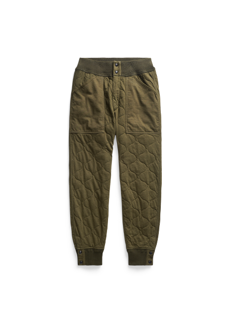 Ralph Lauren Quilted Jersey Drawstring Pant