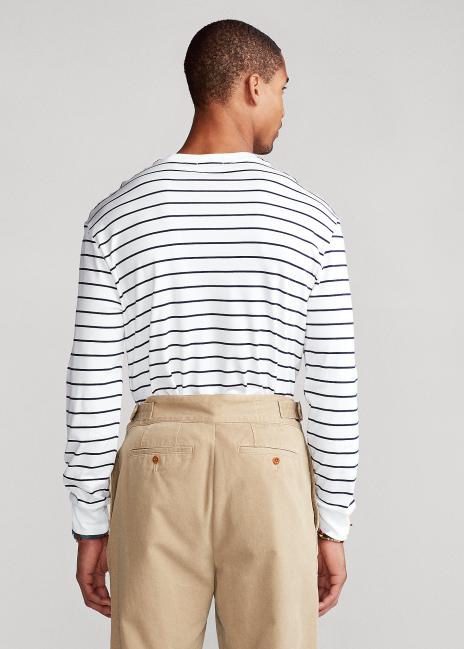 Ralph Lauren Custom Slim Striped T-Shirt