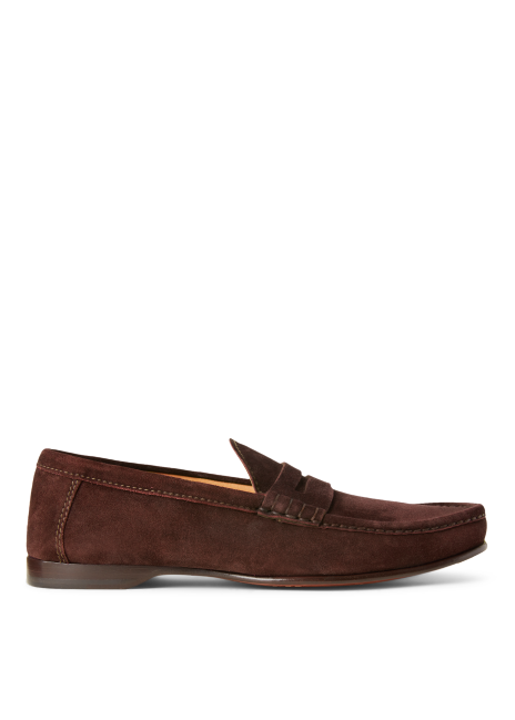 Ralph Lauren Chalmers Suede Penny Loafer