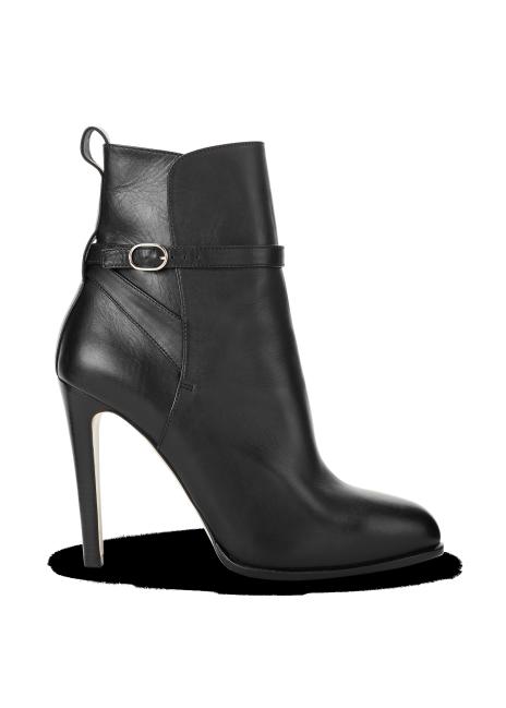 Ralph Lauren Sarafina Buckled Calfskin Boot