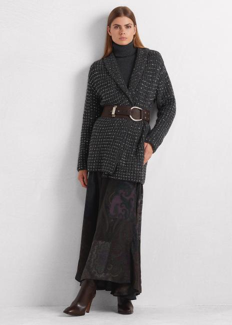 Ralph Lauren Embellished Cashmere Cardigan
