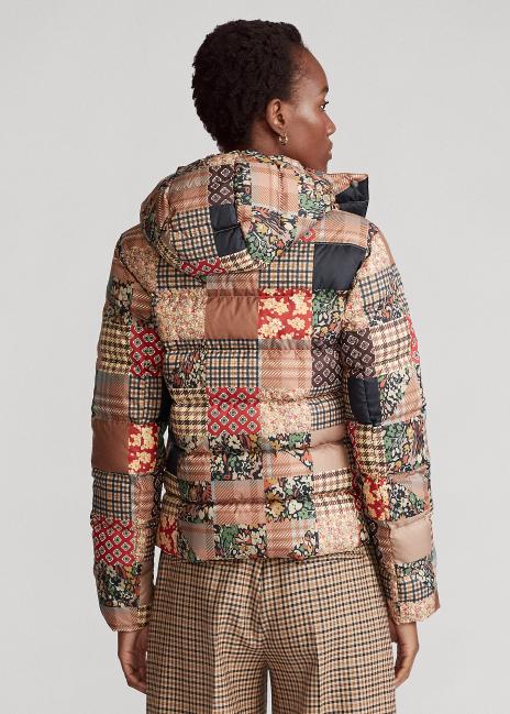 Ralph Lauren Patchwork Down-Filled Jacket