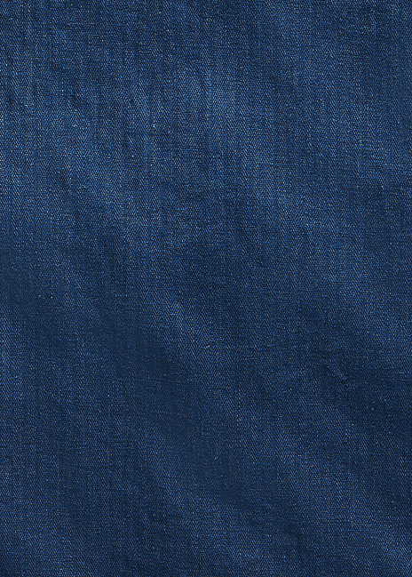 Ralph Lauren Indigo Herringbone Overshirt