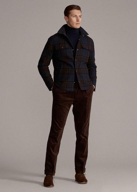 Ralph Lauren Leeson Reversible Shirt Jacket