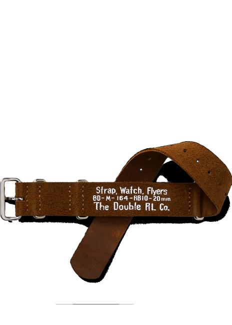Ralph Lauren Suede Wrist-Watch Strap
