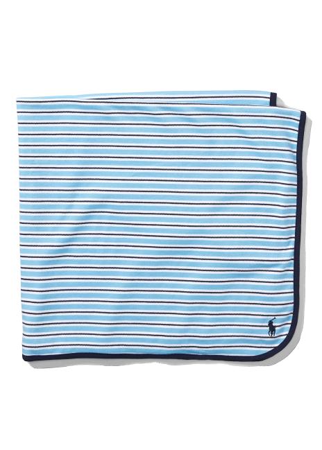 Ralph Lauren Striped Cotton Blanket