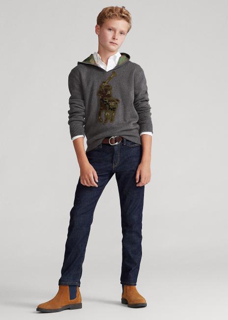 Ralph Lauren Big Pony Cotton Hooded Sweater