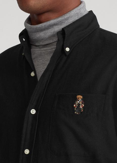 Ralph Lauren Classic Fit Bear Performance Shirt