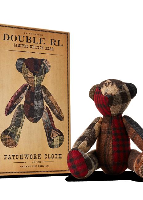 Ralph Lauren Limited-Edition Patchwork Bear