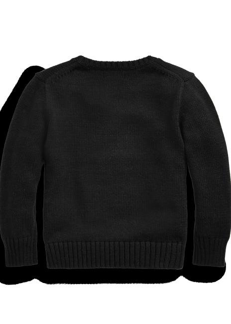 Ralph Lauren Sled Bear Cotton-Wool Sweater