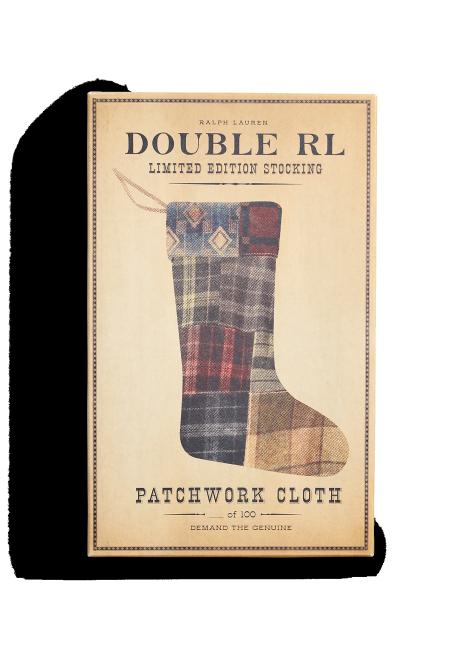 Ralph Lauren Limited-Edition Patchwork Stocking