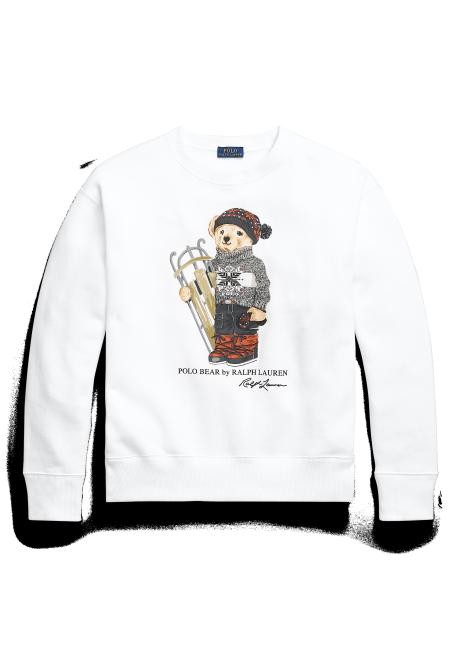 Ralph Lauren Sled Polo Bear Sweatshirt
