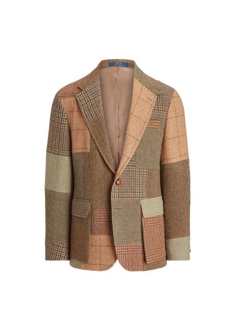 Ralph Lauren The RL67 Patchwork Tweed Jacket