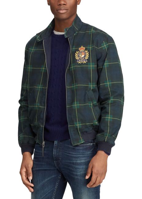 Ralph Lauren Plaid Cotton Canvas Jacket