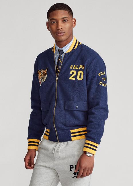 Ralph Lauren Polo Tiger Fleece Bomber Jacket