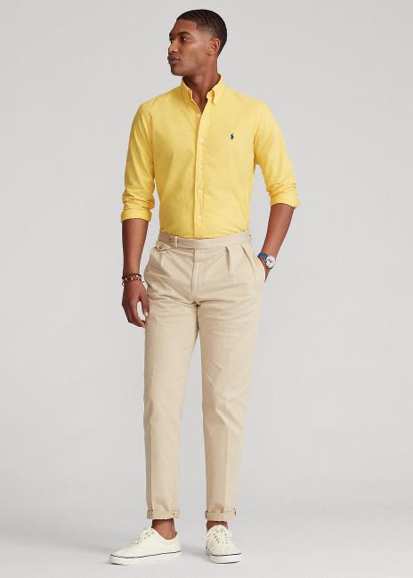 Ralph Lauren Classic Fit Garment-Dyed Oxford Shirt
