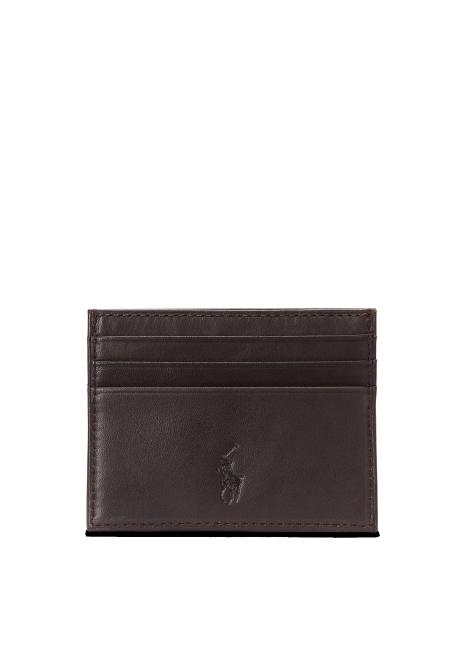 Ralph Lauren Suffolk Slim Leather Card Case
