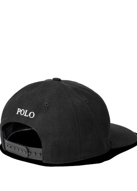 Ralph Lauren Twill High-Crown Ball Cap