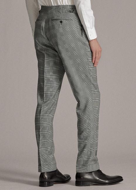 Ralph Lauren Gregory Glen Plaid Wool Twill Suit