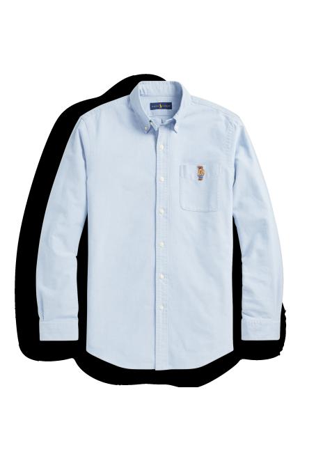 Ralph Lauren Classic Fit Polo Bear Oxford Shirt