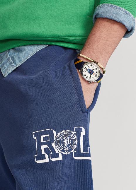Ralph Lauren Fleece Graphic Jogger Pant