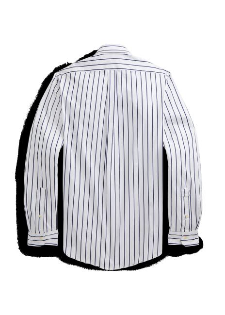 Ralph Lauren Slim Fit Striped Stretch Poplin Shirt
