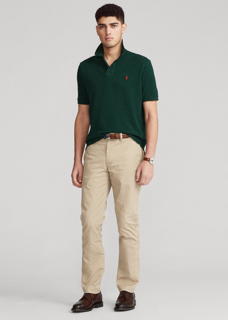 Ralph Lauren Washed Stretch Straight Fit Chino Pant