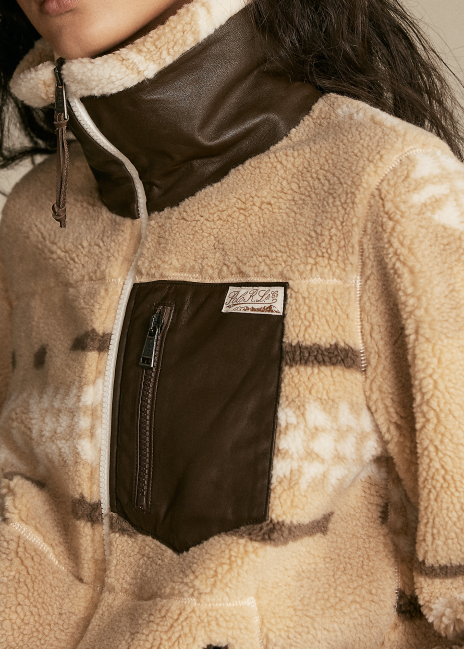 Ralph Lauren Southwestern Fleece Zip Jacket