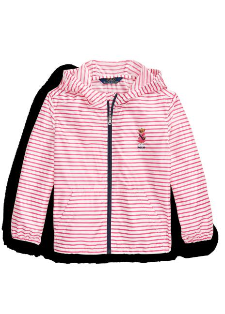 Ralph Lauren Polo Bear Packable Hooded Jacket