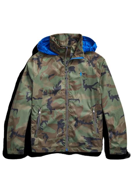 Ralph Lauren Water-Resistant Packable Hooded Jacket