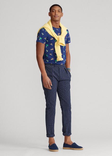 Ralph Lauren Custom Slim Fit Tropical Jersey T-Shirt