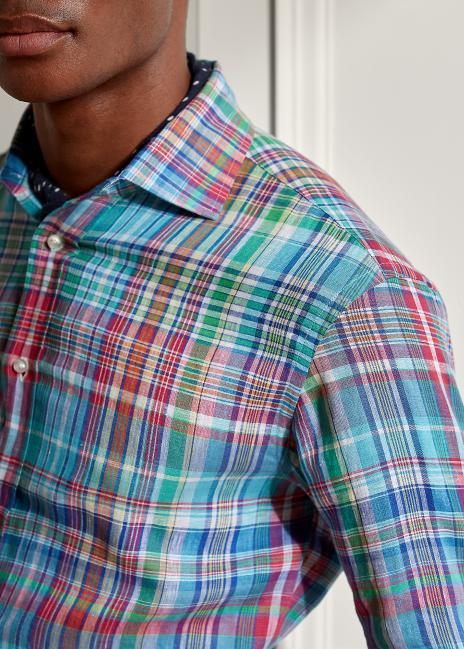 Ralph Lauren Plaid Linen Shirt