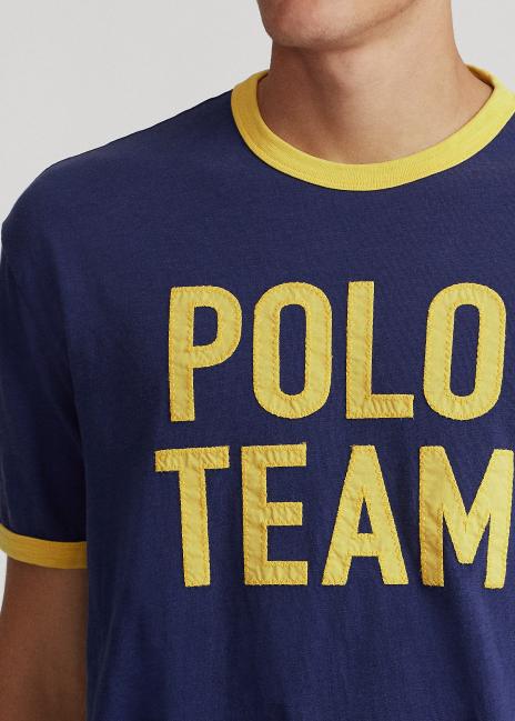 Ralph Lauren Classic Fit Polo Team Jersey T-Shirt