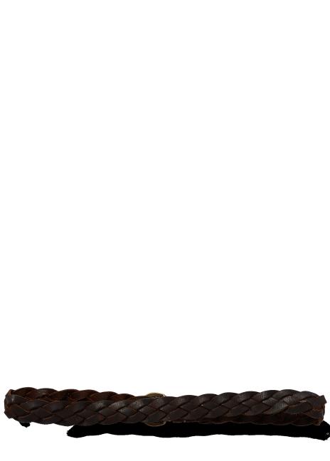 Ralph Lauren Hand-Braided Leather Belt