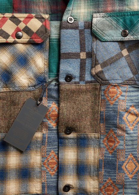 Ralph Lauren Limited-Edition Patchwork Overshirt