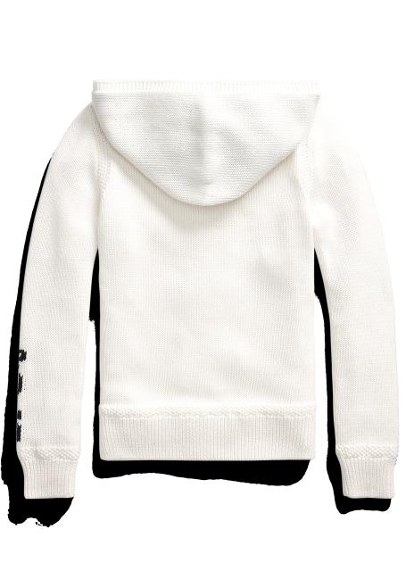 Ralph Lauren Big Pony Hooded Cotton Sweater