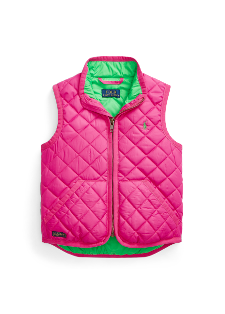 Ralph Lauren Quilted Water-Resistant Vest