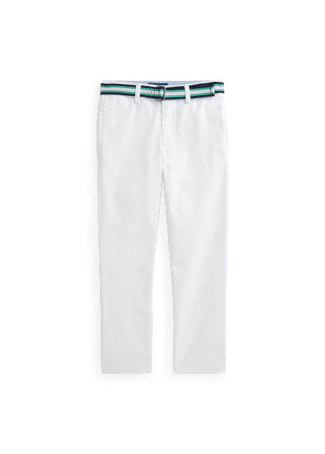 Ralph Lauren Belted Super Skinny Stretch Twill Pant