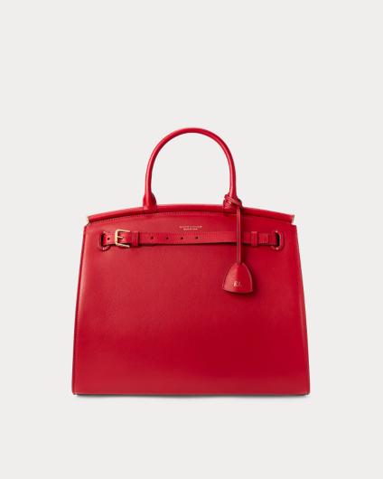 Ralph Lauren Calfskin Large RL50 Handbag